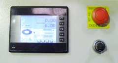 Digital touch panel counter